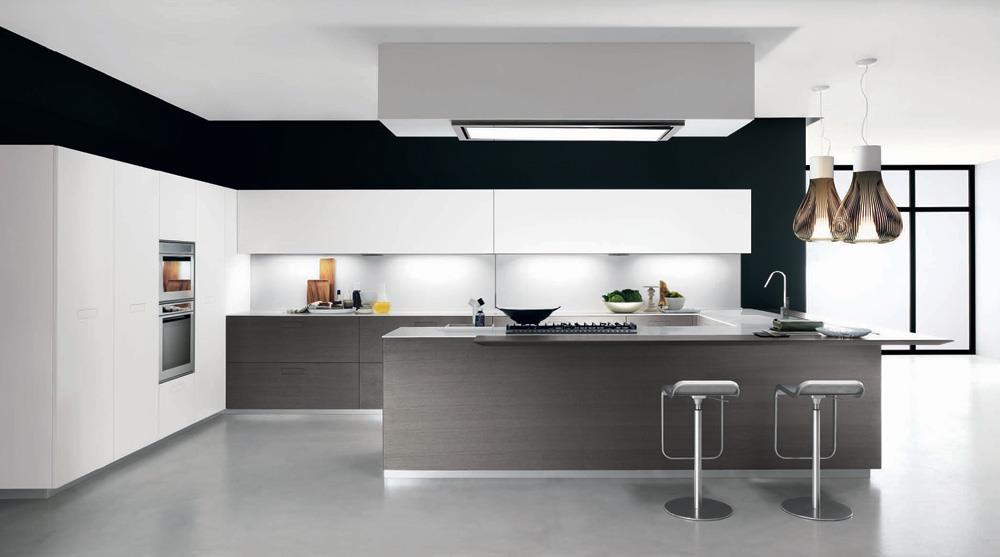 cucine moderne con isola curva  avienix for ., Disegni interni
